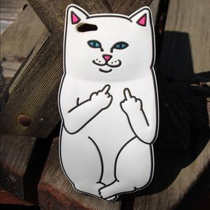 Kitty iPhone 6 Plus silicone case